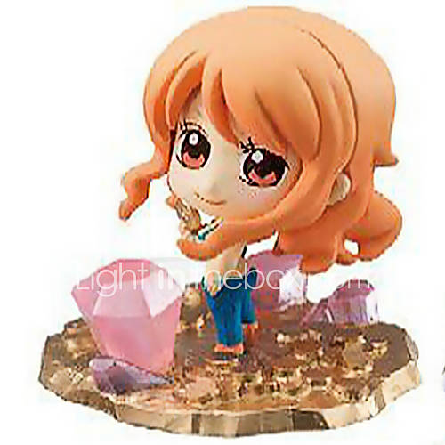 One Piece Anime Action Figure 6CM Model Toys Doll Toy
