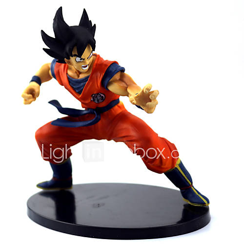 "Japanese Anime Dragon Ball Z Figures The Monkey King Goku PVC Action Figure Cartoon Toy 6""15CM"