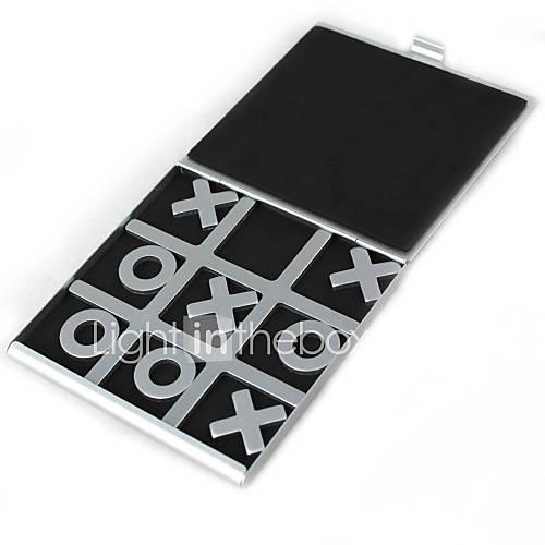 Travelling Tic Tac Toe Aluminium Board Games