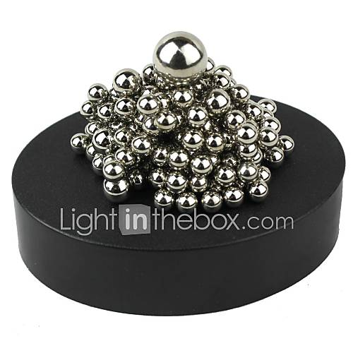 Magnet Toys 1 Pieces MM Magnet Toys Sculpture Magnetic Balls Executive Toys Puzzle Cube For Gift