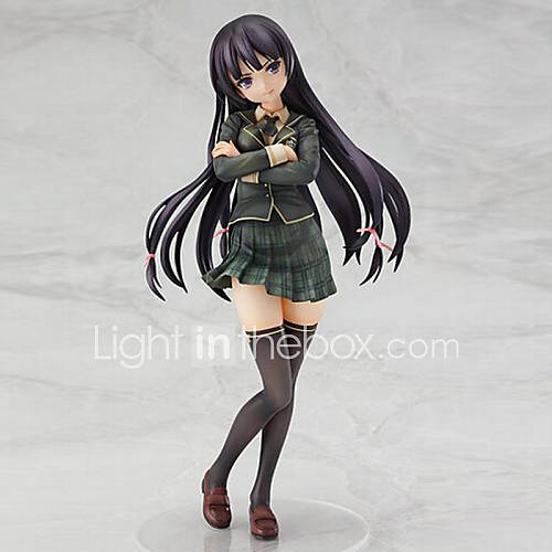 Boku Wa Tomodachi Ga Sukunai Mikazuki Yozora Anime Action Figure 23CM Model Toy Doll Toy