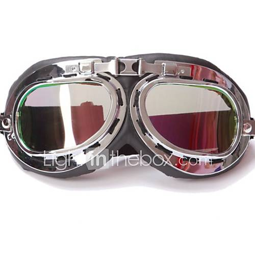 Motorcycle Glasses Scooter Goggles Pilot Ski Dirt Bike Cycling Lens Frame Goggles Motocross Glasses Sunglasses