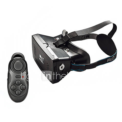 VR Virtual Reality magnet Control 3D Glasses for 3.5~6 Smartphone RITECH IIBluetooth Controller