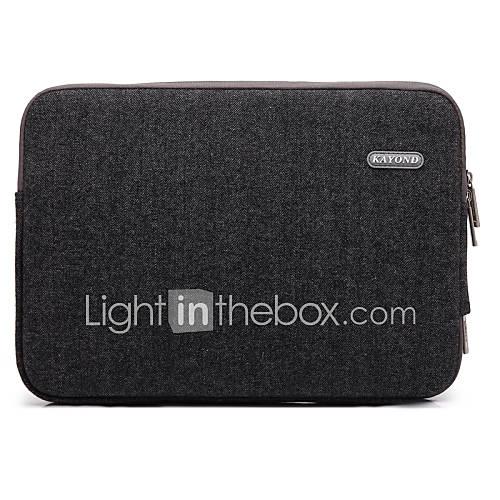 caso para 11 ''12'' 13 ''macbook Samsung superficie ThinkPad hp dell prueba de agua portátil bolsa de tela caja de la manga que absorbe los Descuento en Miniinthebox