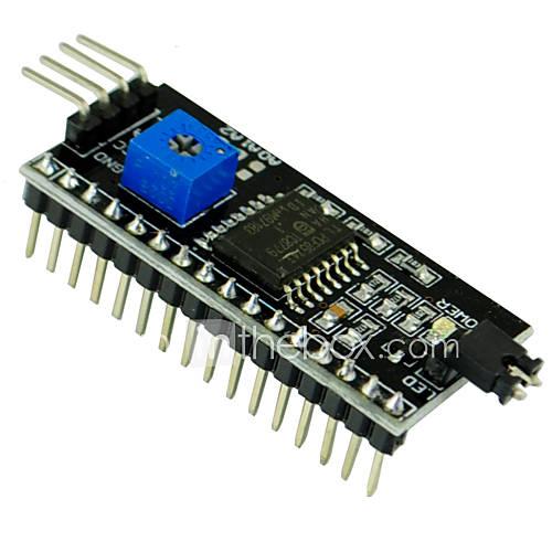 / I2C / interfaz LCD1602 placa adaptadora 2004 lcd lcd CII para Arduino 1602 Descuento en Miniinthebox