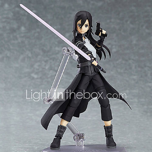 Anime Action Figures Inspired by Sword Art Online Kirito PVC 15 CM Model Toys Doll Toy