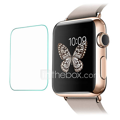 Tempered Glass Screen Protector For Apple Watch 3 Series 2 1 42mm and Scratch Proof 2pcs