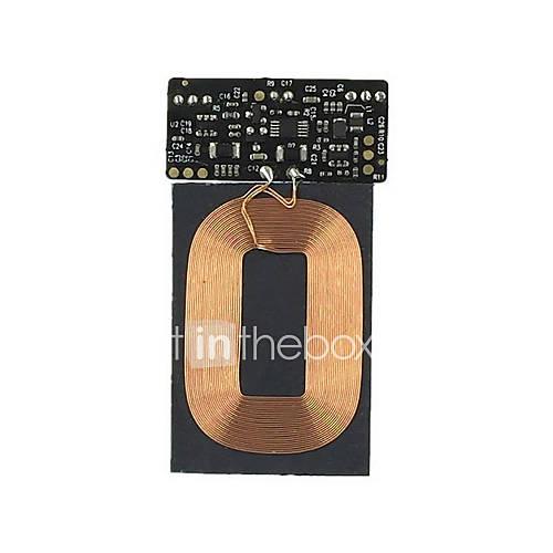 qi módulo de placa de circuito de carga inalámbrica (PCBA) esquema de bricolaje