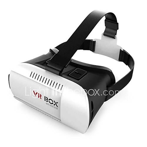 "VR BOX Virtual Reality 3D Helmet Phone Glasses for 4.7""-6"" Smartphones"
