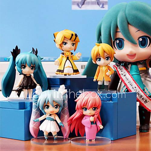 Hatsune Miku Anime Action Figure 6.5CM Model Toys Doll Toy