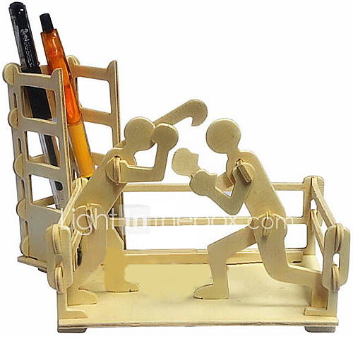 3D Puzzles Jigsaw Puzzle Wooden Puzzles Toys Boxing Boxing Pieces