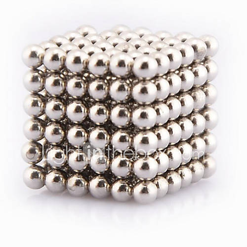 Magnet Toys 512 Pieces 5 MM Magnet Toys Building Blocks Magnetic Balls Executive Toys Puzzle Cube For Gift