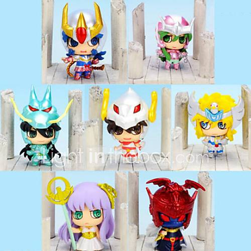 Saint Seiya Anime Action Figure 6CM Model Toy Doll Toy