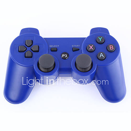 -Dual Shock 3 controlador inalámbrico bluetooth para ps3 (negro) Descuento en Miniinthebox