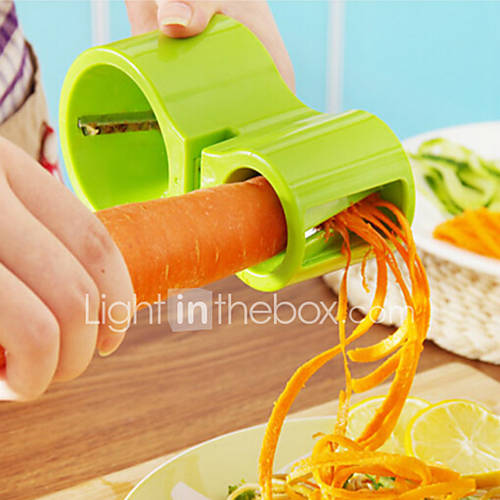 3 in 1 Amphibious Grater Shredder Spiral CutterSharpener Shred Vegetables Device Tools Random Color