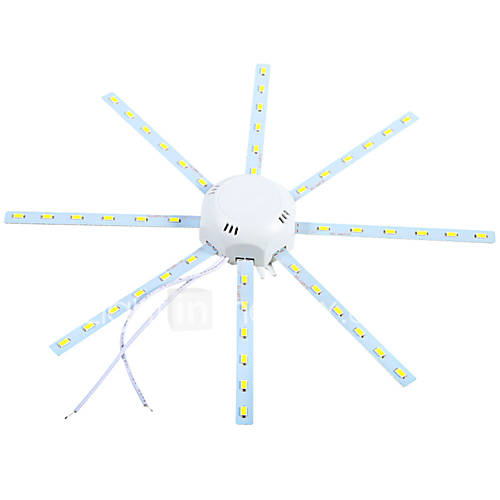 1 pcs YWXLIGHT 24W 48 SMD 5730 1920 lm Cool White Decorative LED Ceiling Lights AC 220-240 V