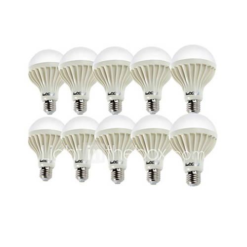 YouOKLight 10PCS E27 12W 18SMD5630 900LM 3000K/6000 Warm White/Cool White Light  LED Globe Bulbs (AC 220V)