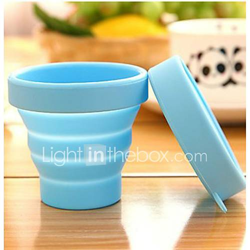 Portable Travel Silicone Folding Cups Outdoor sports Telescopic Gargle