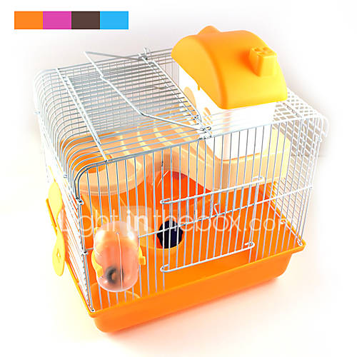 New Hot Sales high quality plastic multi - colored castle heightening pet hamster cage hamster villa for