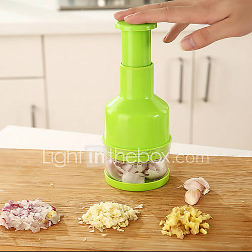 Green Onion Slicers Stainless Steel / Plastic Garlic Tools Random Color