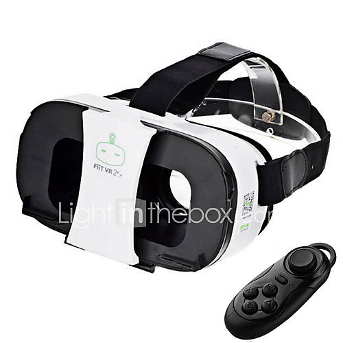 FiiT VR 2s Virtual Reality Glasses  Bluetooth Controller - White