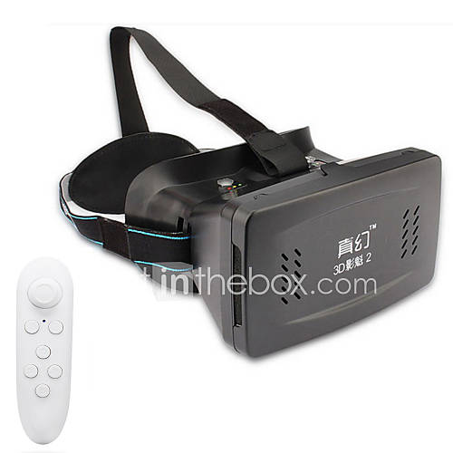 "RITECH II Virtual Reality VR 3D Glasses Bluetooth Controller for 3.5~6.0"" Phones"