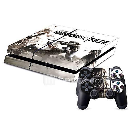 PS4-B-Skin-PS4-Novedad-PVC-USB-Bolsos, Cajas y Cobertores- Descuento en Miniinthebox