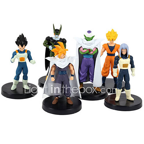 Dragon Ball 24 Generation 6 Figure Seven Dragon Ball Anime Action Figures Model Toy