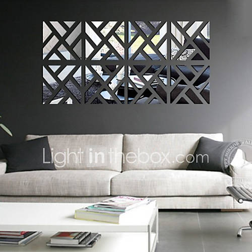 Leisure Wall Stickers Mirror Wall Stickers Decorative Wall Stickers Vinyl Home Decoration Wall Decal Wall Decoration