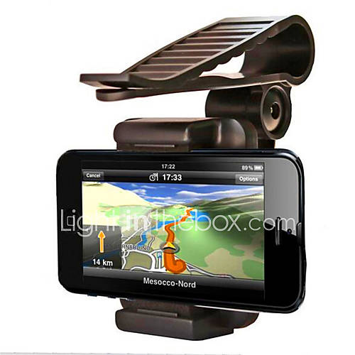 Automobile Sun Shading Board Mobile Phone Support / IPhone And Other Smart Phone Universal Navigation Support