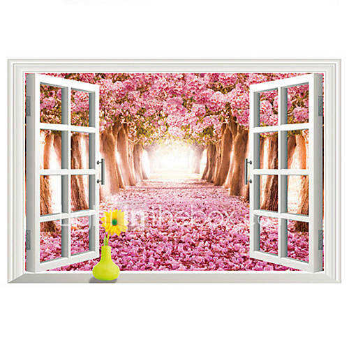 Landscape Wall Stickers 3D Wall Stickers Decorative Wall Stickers Vinyl Home Decoration Wall Decal Wall Decoration