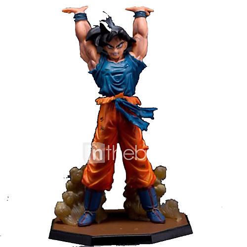 16cm Dragon Ball Z Son Goku Battle Genki Dama PVC Action Figure Model Toys Dragon Ball figure