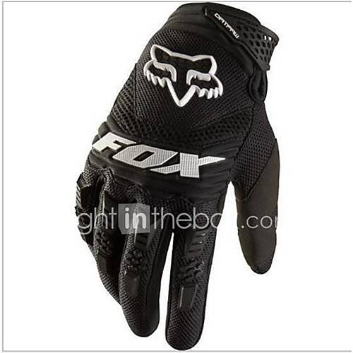 FOX DIRTPAW Racing Gloves Motorcycle Gloves Full Finger Slip UV Breathable Wear Shock