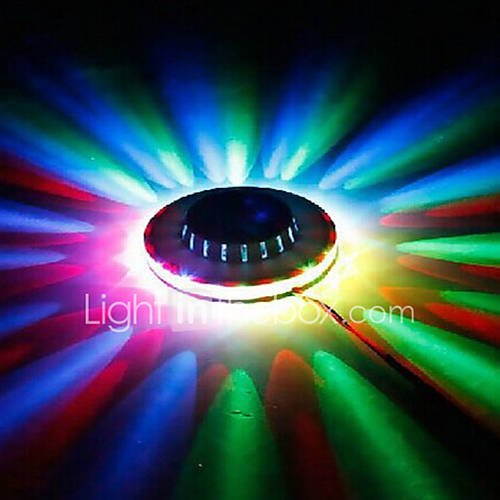 1pc LED lighting KTV Mini- Flying Saucer Laser Night Light