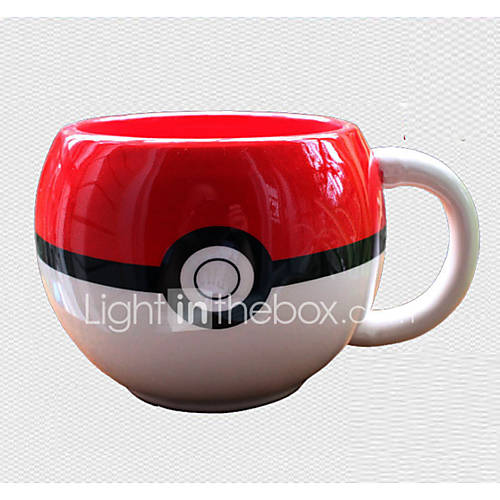 Pocket Little Monster Pocket Monster Fairy Ball Red Ceramic Cup More Accessories