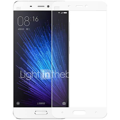 ZXD Tempered Glass for Xiaomi Note Full Screen Covered Film Edge Arc Explosion Proof 2.5D for new Millet 5
