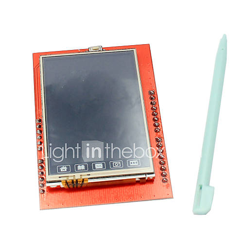 2.4 Inch TFT LCD Touch Screen Shield with Touch Pen for Arduino UNO