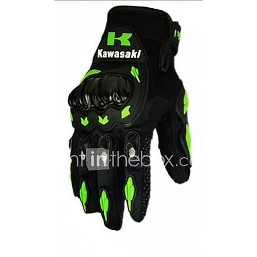 Motorcycle Gloves Full Finger Slip UV Breathable Wear Shock
