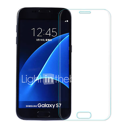 ASLING 2.5D Curved edge Explosion-proof Tempered Glass Screen Film for Samsung S7 with Electroplated