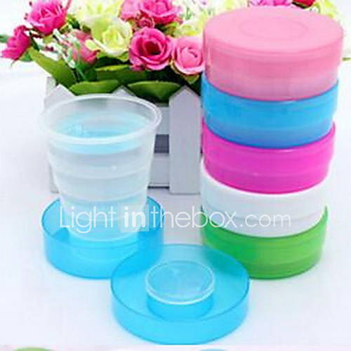 Candy Color Travel Folding Cups Plastic Cups