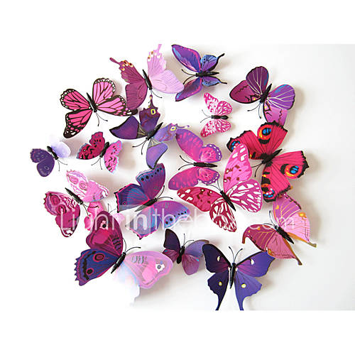 3D Wall Stickers Animal Wall Stickers Decorative Wall Stickers Vinyl Home Decoration Wall Decal Wall Decoration
