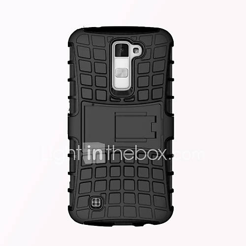 Case For LG Nexus 5 / LG G2 / LG G3 LG Case Shockproof / with Stand Back Cover Armor Hard PC for / LG G4 / LG K10