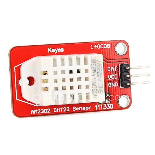 digitales para la temperatura DHT22 AM2302 Arduino y el módulo sensor de humedad para la herramienta de la belleza Descuento en Miniinthebox