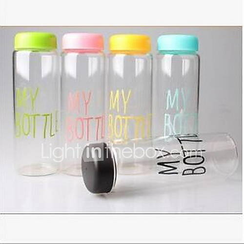 My Bottle Plastic Cup Portable Water Bottle(Random Colour)