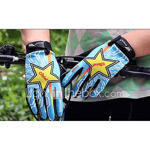 Bicycle And Motorcycle Gloves Outdoor Cycling Racing Gloves Off-Road Riding Sunscreen Long Finger Gloves