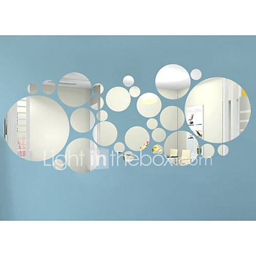 3D Wall Stickers Mirror Wall Stickers Decorative Wall Stickers Vinyl Home Decoration Wall Decal Wall Decoration