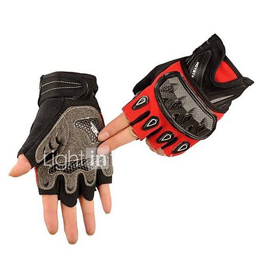 Off-Road Motorcycle Racing Gloves Half Finger Sport Riding Motorcycle Helmet CS Outdoor Tactical Gloves Slip