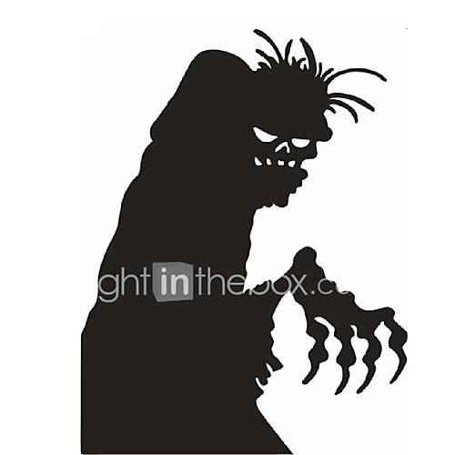 Halloween Wall Sticker Creative Ghosts Home Decal Custom Bedroom Decoration Halloween Window Stickers Pvc Wall Removable