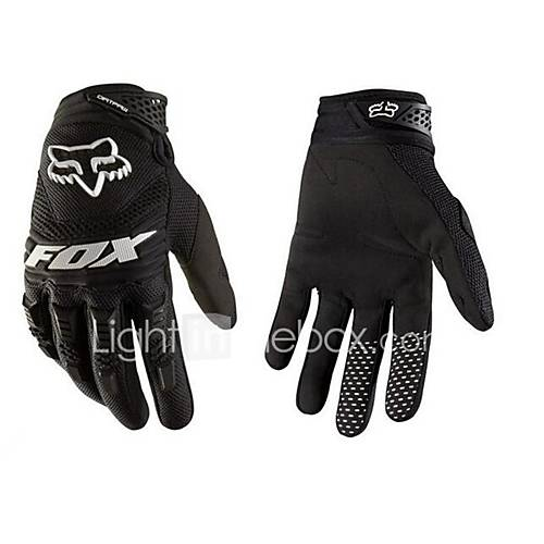 Off-Road Motorcycle Racing Gloves Nontoxic Odorless Water Resistant Breathable Slip Drop Resistance