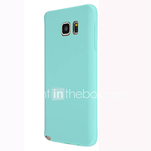 Case For Samsung Galaxy Samsung Galaxy Note Back Cover Solid Color TPU for Note 5 Note 4 Note 3